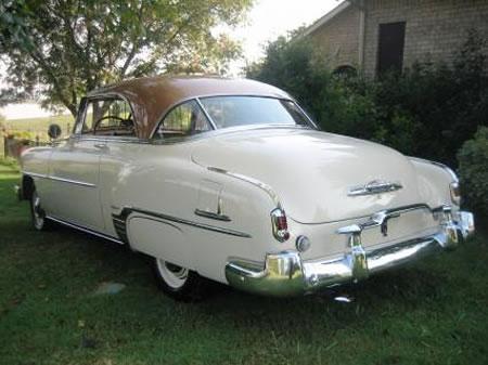 Carros y clasicos chevrolet belair primera serie 1950 1952 for 1952 chevy belair 4 door