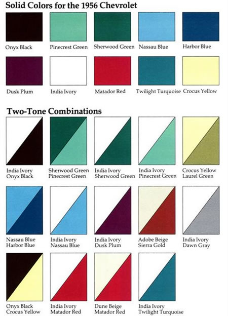 A nivel de colores se ofrecan