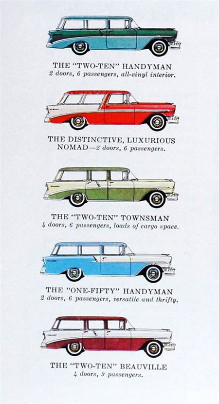 1957 chevrolet 210 beauville wagon wiring diagrams