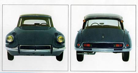 Historia de los Citroen ID y DS (1955-1975)
