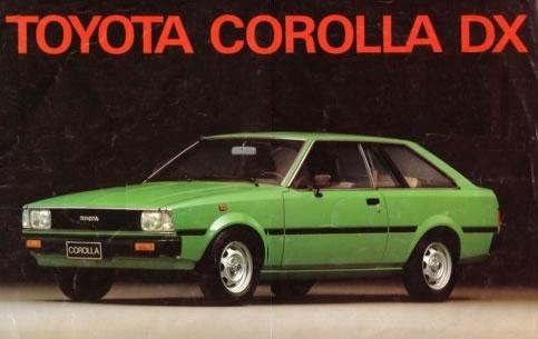 lyhautoguatemala - TOYOTA COROLLA 1980 LIFTBACK