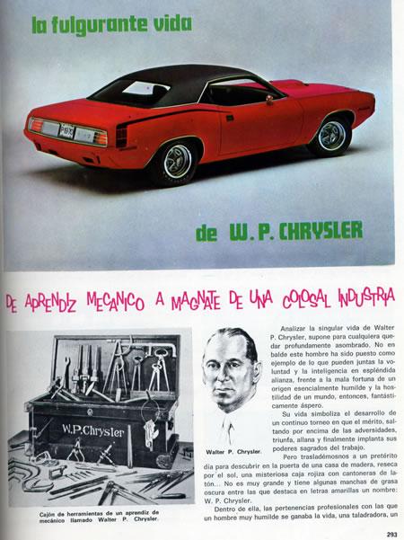 El automóvil visto desde la enciclopedia Volante