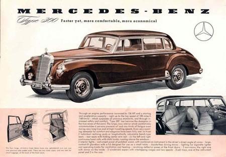"""Mercedes Benz 300 """"Adenauer"""" (1951 – 1962)"""