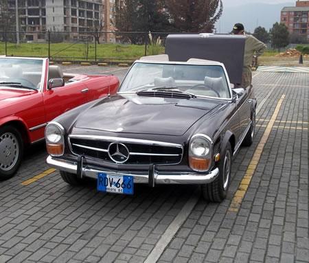 Carros y clasicos mercedes benz pagoda 1963 1971 for Mercedes benz deportivo
