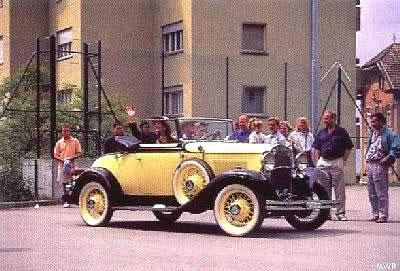 Chevrolet y Ford Rivales en 1931