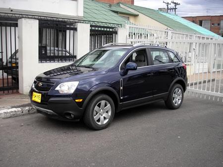 Prueba Chevrolet Captiva Sport 2.4