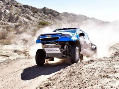 Chevrolet Dakar Team llegó a Pisco