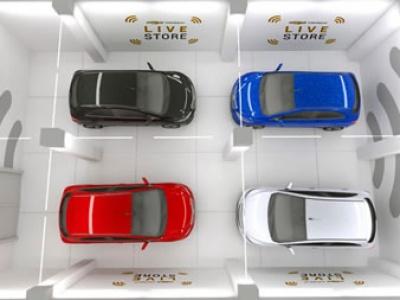 Chevrolet lanza showroom 100% online