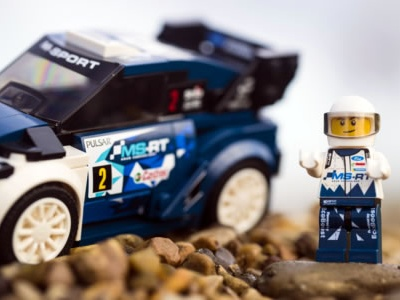Ford Fiesta WRC Rally Car se une a LEGO® Speed Champions