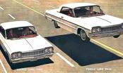 Chevrolet Impala, Biscayne y Bel Air 1962 – 1964
