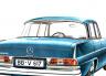 Mercedes-Benz W110, W111 y W112 (1959 – 1971)