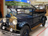 Muestra de vehículos antiguos en Centro Chía