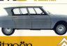 Citroën AMI 6: La última creación de Flaminio Bertoni