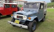 Muestra de modelos Toyota Antiguos