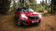 Peugeot ruge con su exhibición en el  Centro Comercial El Retiro