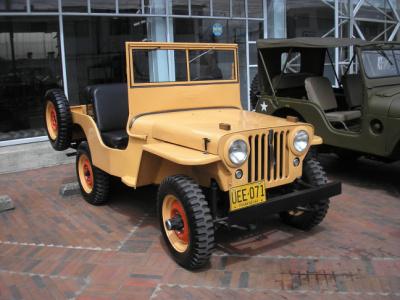 Restauración de un Willys CJ2A 1947