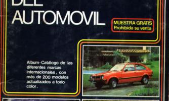 El álbum internacional del automóvil de 1982